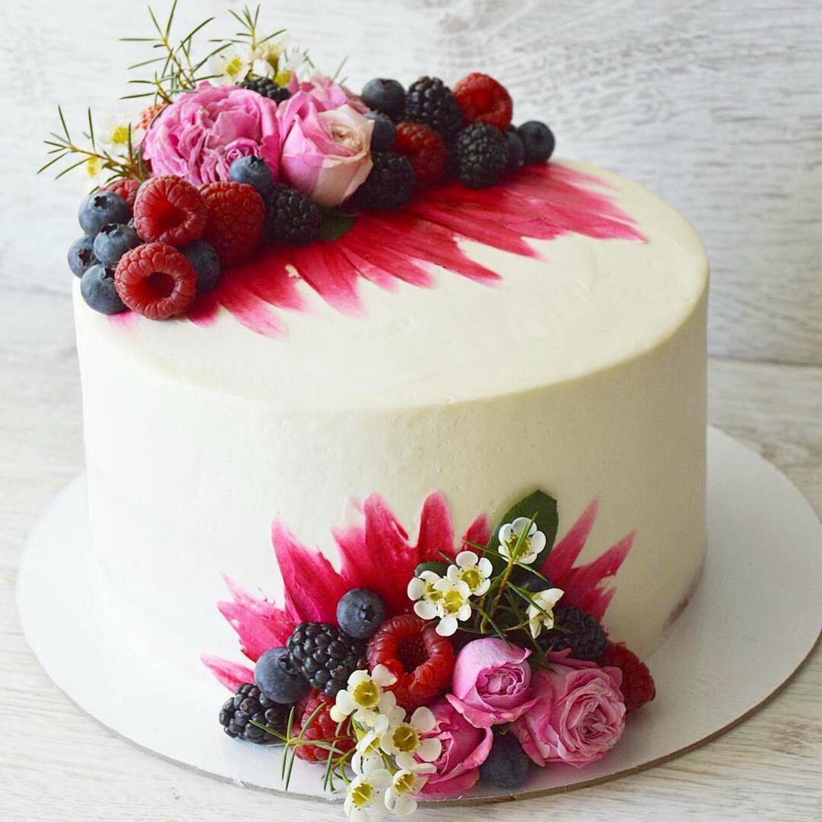торт весільний №13